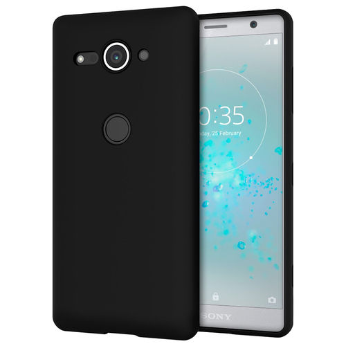 Flexi Slim Stealth Case for Sony Xperia XZ2 Compact - Black (Matte)